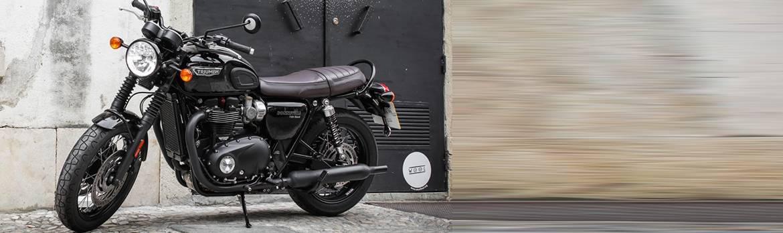 R 2016-2017 R/&G Noir Embout de Guidon Moto TRIUMPH 1200 THRUXTON
