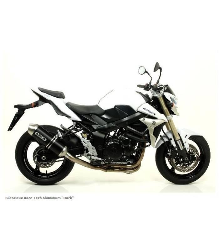 silencieux pour moto suzuki gsr750 race tech arrow 71776. Black Bedroom Furniture Sets. Home Design Ideas