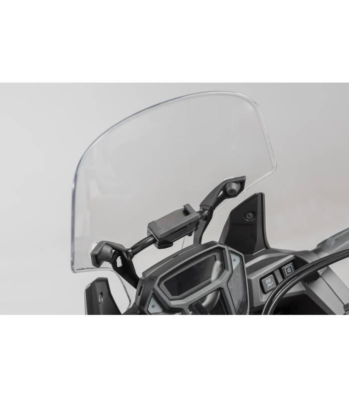 support gps pour barre 10 12 mm crf 1000 l africa twin honda. Black Bedroom Furniture Sets. Home Design Ideas