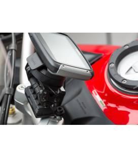 Support GPS pour barre de guidon Multistrada 950-1200