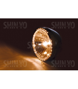 OPTIQUE DE PHARE SHIN YO RENO 2 CHROME Ø 200mm