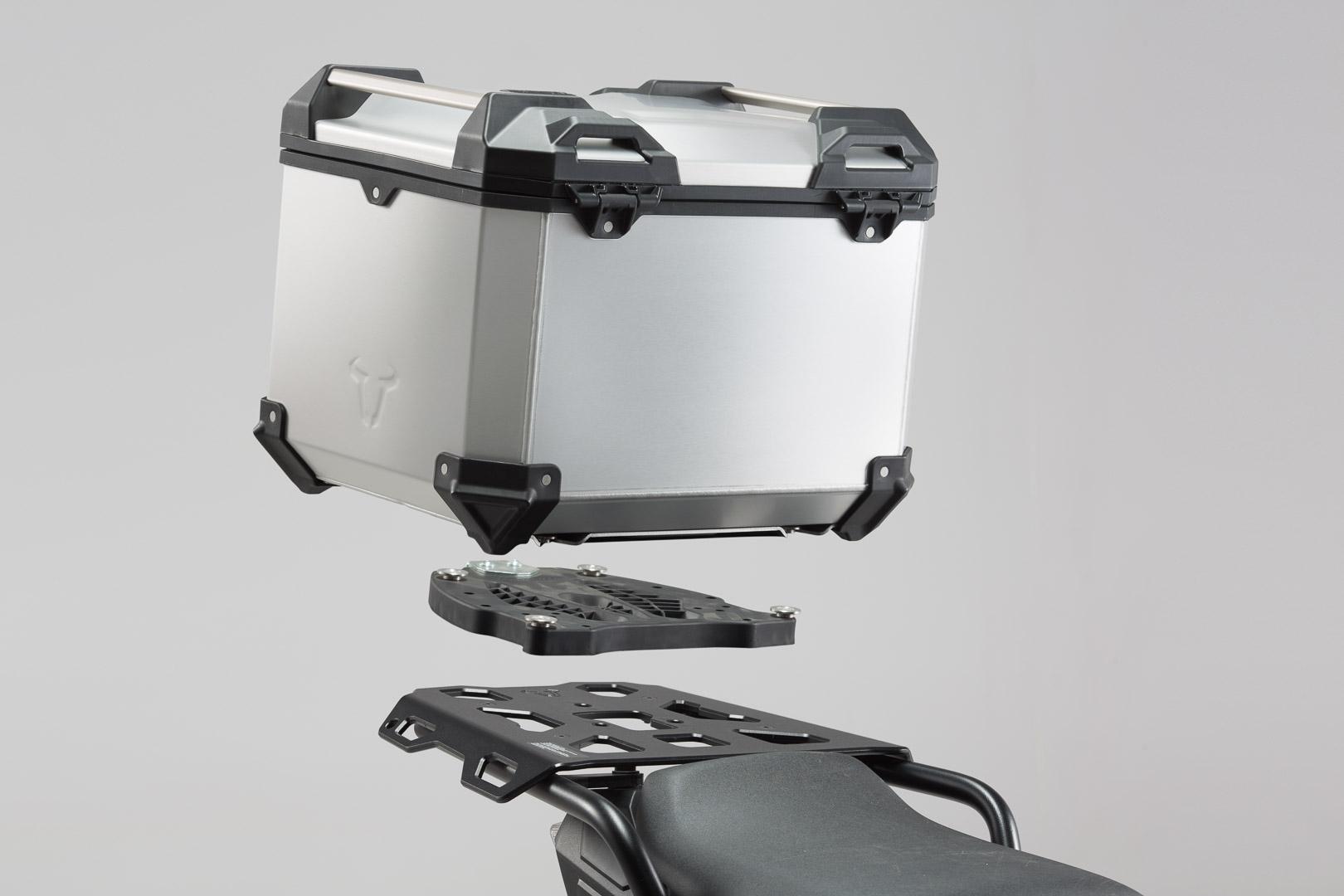 top case pour moto bmw r1200gs lc trax adv alu. Black Bedroom Furniture Sets. Home Design Ideas