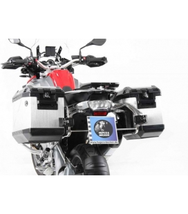 Kit valises BMW R1200GS LC 2013-2018 / Hepco-Becker Silver