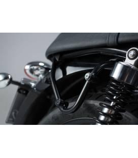 Support gauche Triumph Thruxton 900 - SW Motech SLC