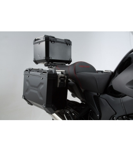 Kit valises Honda VFR1200X Crosstourer - TRAX ADV 37L NOIR
