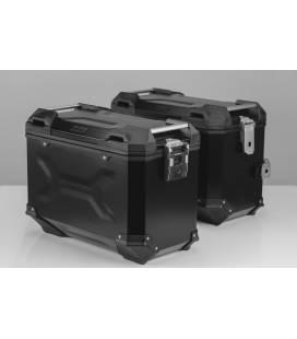 Kit valises Yamaha MT07 Tracer - Tracer 700 / TRAX ADV 45L NOIR