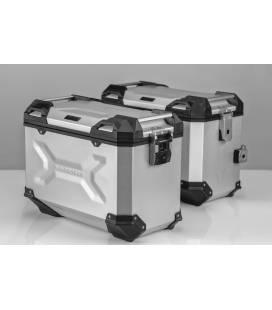 Kit valises MT07 Tracer - Tracer 700 / TRAX ADV 45L ALU