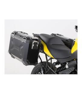 Kit valises Kawasaki Versys 650 2015- TRAX ADV 37L NOIR