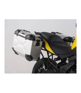Kit valises Kawasaki Versys 650 2015- TRAX ADV 37L ALU