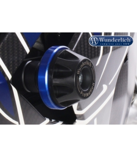 Tampon protection cadre BMW S1000R 14-16 Wunderlich bleu