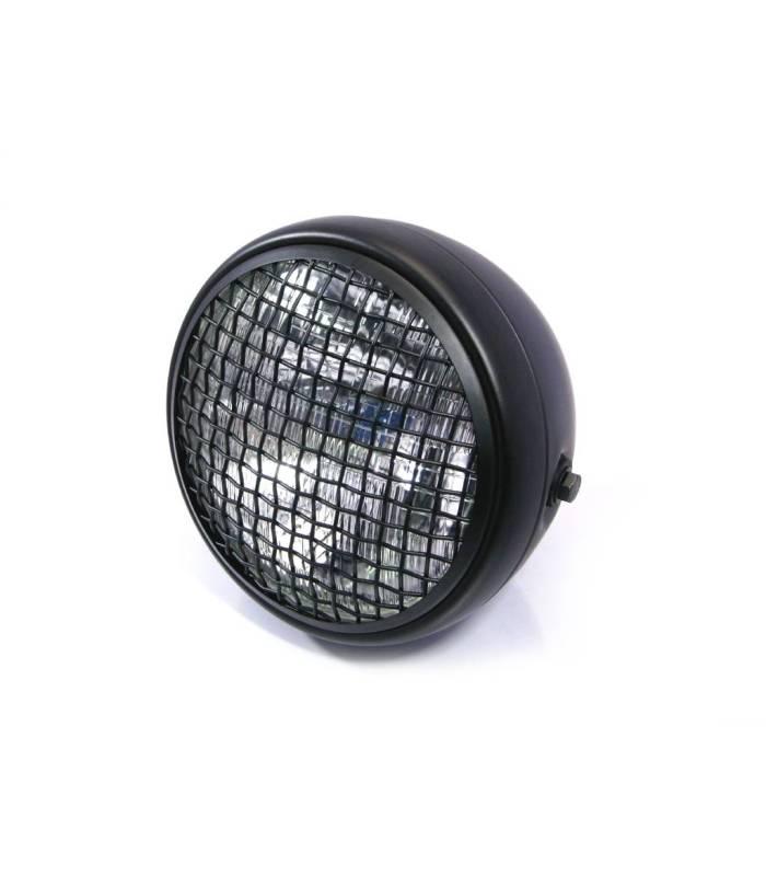 optique de phare scrambler black 190mm sport. Black Bedroom Furniture Sets. Home Design Ideas