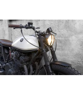 OPTIQUE DE PHARE SCRAMBLER BLACK Ø 145mm