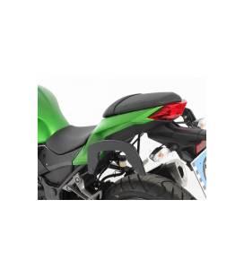 Supports sacoches Kawasaki Z300 2015-2017 / Hepco-Becker C-Bow