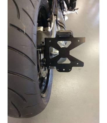 Moto dimmatriculation /éclairage avec plaque dimmatriculation led Support pour Kawasaki ninja636/ZX 6R de 2009 2010 2016/ZX-10R de 2008