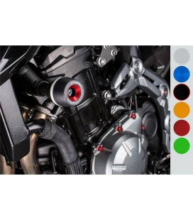 Tampons de protection Kawasaki Z900 - Lightech noir
