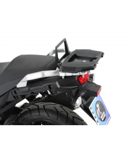 Support top-case V-STROM 650 2017 - Hepco-Becker Alurack