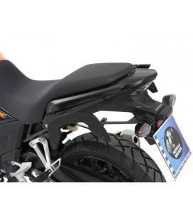 Supports sacoches Honda CB500X 2017-2018 / Hepco-Becker C-Bow