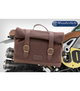 Kit sacoche BMW R Nine T - Wunderlich Retro Brun
