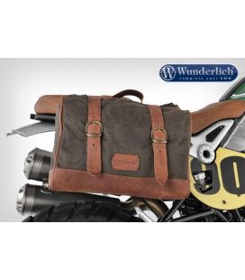 Kit sacoche BMW R Nine T - Wunderlich Retro Kaki