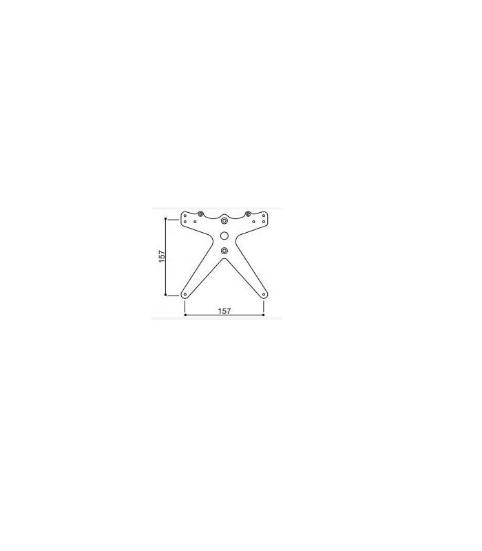 support de fixation pour immatriculation moto rizoma r241 01b. Black Bedroom Furniture Sets. Home Design Ideas