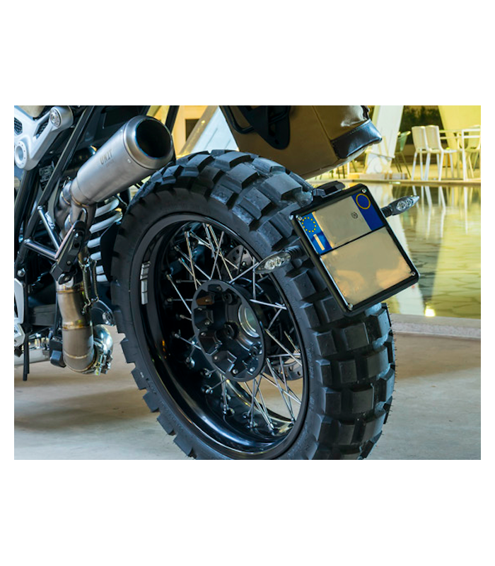 Support de plaque pour bmw r nine t unit garage 1610 for Garage pour bmw