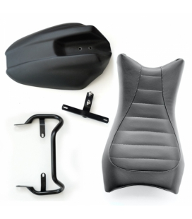 Kit selle cuir R Nine T - Unit Garage Monoposto Black