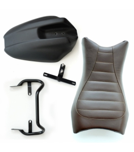 Kit selle cuir R Nine T - Unit Garage Monoposto Brown