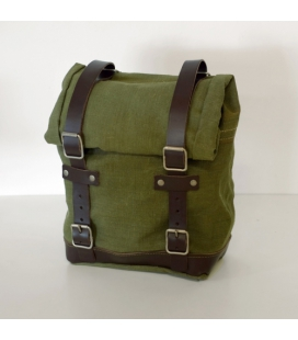 Sacoche cavalière Unit Garage Canvas Green