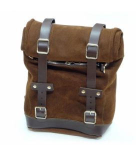 Sacoche cavalière cuir Unit Garage U002 Colorado Brown