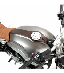 Ceinture réservoir cuir BMW R NINE T - Unit Garage Brown