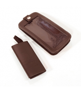 Pochette smartphone Unit Garage Brown