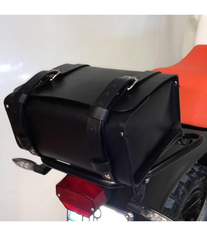 sacoche de selle pour moto universelle unit garage 122509 01. Black Bedroom Furniture Sets. Home Design Ideas