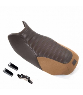 Selle cuir BMW R850R, R1100R - Unit Garage Canavas