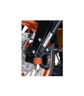 Protection de fourche DUKE 125-200-390 / RG Racing Orange