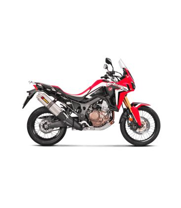 silencieux pour honda africa twin crf1000l akrapovic s h10so15 hwt. Black Bedroom Furniture Sets. Home Design Ideas