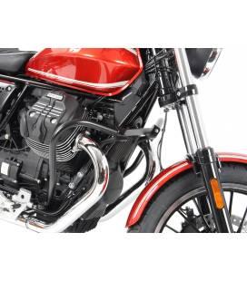 Pare carters Moto-Guzzi V9 Roamer - Hepco-Becker chrome