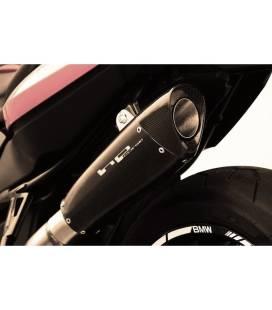 SILENCIEUX BMW F800R - HP CORSE EVOXTREME INOX NOIR