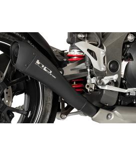 SILENCIEUX HONDA HORNET 600 - HP CORSE HYDROFORM BLACK