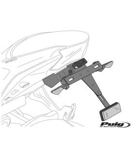 SUPPORT DE PLAQUE SUZUKI GSXR1000 05-08 / Puig
