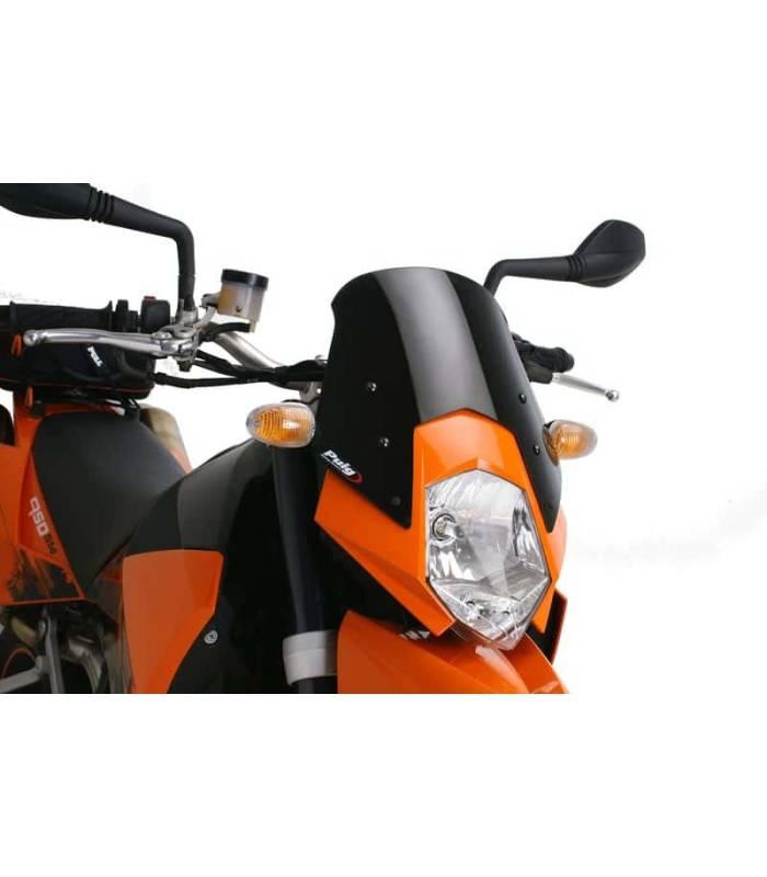 PUIG - 6009F - Naked New Generation Sport Windscreen, Dark