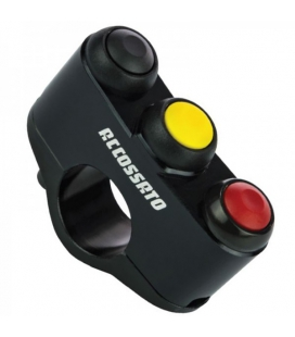 Commodo RACING ACCOSSATO 3 Boutons