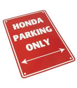 Plaque garage Honda - Bike It SIG019