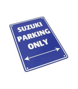 Plaque garage Suzuki - Bike It SIG023
