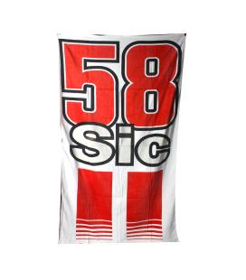 Serviette de plage Marco Simoncelli 58 - GP55007