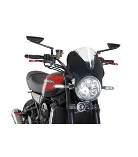 Carénage + bulle Kawasaki Z900RS - Puig Vision Noir