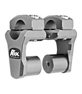 Risers de guidon pour pontets de 28,6 mm - ROX 1R-P2PPG