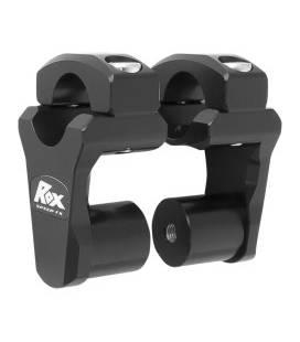 Risers de guidon pour pontets de 28,6 mm - ROX 1R-P2PPK
