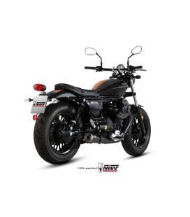 Silencieux Moto-Guzzi V9 Roamer - MIVV Ghibli Black