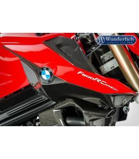 Cache de tubulure d'admission BMW F800R 2015- Wunderlich carbone