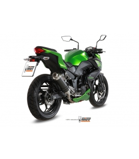 Silencieux Kawasaki Z300 - MIVV GP carbone